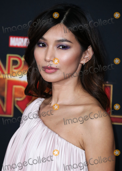 Gemma Chan Photo - HOLLYWOOD, LOS ANGELES, CA, USA - MARCH 04: Actress Gemma Chan wearing Ralph and Russo arrives at the World Premiere Of Marvel Studios 'Captain Marvel' held at the El Capitan Theatre on March 4, 2019 in Hollywood, Los Angeles, California, United States. (Photo by Xavier Collin/Image Press Agency)