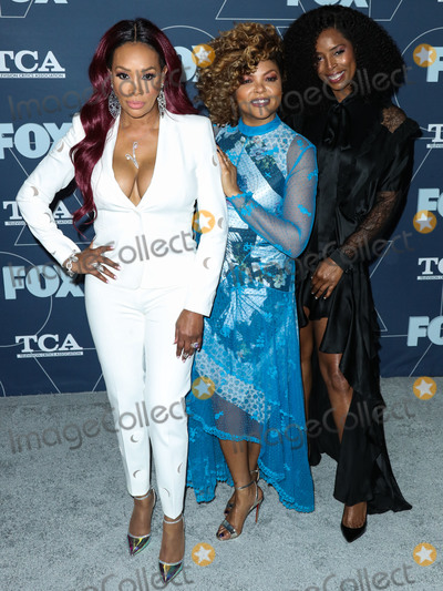 Taraji P Henson, Taraji P. Henson, Tasha Smith, Vivica A Fox, Vivica A. Fox Photo - PASADENA, LOS ANGELES, CALIFORNIA, USA - JANUARY 07: Vivica A. Fox, Taraji P. Henson and Tasha Smith arrive at the FOX Winter TCA 2020 All-Star Party held at The Langham Huntington Hotel on January 7, 2020 in Pasadena, Los Angeles, California, United States. (Photo by Xavier Collin/Image Press Agency)