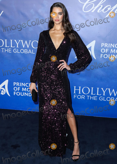 Anna Maria Perez de Taglé, HSH Prince Albert II of Monaco, Prince, Prince Albert, Prince Albert II, Prince Albert II of Monaco, Anna Avila Photo - BEVERLY HILLS, LOS ANGELES, CALIFORNIA, USA - FEBRUARY 06: Anna Avila arrives at the 2020 Hollywood For The Global Ocean Gala Honoring HSH Prince Albert II Of Monaco held at the Palazzo di Amore on February 6, 2020 in Beverly Hills, Los Angeles, California, United States. (Photo by Xavier Collin/Image Press Agency)