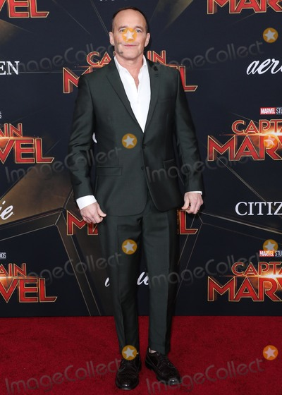 Clark Gregg, Clarke Gregg Photo - HOLLYWOOD, LOS ANGELES, CA, USA - MARCH 04: Actor Clark Gregg arrives at the Los Angeles Premiere Of Marvel Studios 'Captain Marvel' held at the El Capitan Theatre on March 4, 2019 in Hollywood, Los Angeles, California, United States. (Photo by David Acosta/Image Press Agency)