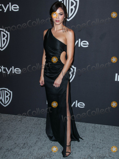 Giuseppe Zanotti, Jenna Dewan Photo - BEVERLY HILLS, LOS ANGELES, CA, USA - JANUARY 06: Actress Jenna Dewan wearing an Azzaro gown, Giuseppe Zanotti heels, and Norman Silverman jewelry arrives at the 2019 InStyle And Warner Bros. Pictures Golden Globe Awards After Party held at The Beverly Hilton Hotel on January 6, 2019 in Beverly Hills, Los Angeles, California, United States. (Photo by Xavier Collin/Image Press Agency)