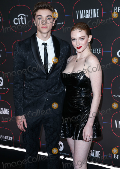 Madness, Gavin Casalegno, Larsen Thompson Photo - LOS ANGELES, CA, USA - FEBRUARY 07: Gavin Casalegno and Larsen Thompson arrive at the Warner Music Pre-Grammy Party 2019 held at The NoMad Hotel Los Angeles on February 7, 2019 in Los Angeles, California, United States. (Photo by Xavier Collin/Image Press Agency)
