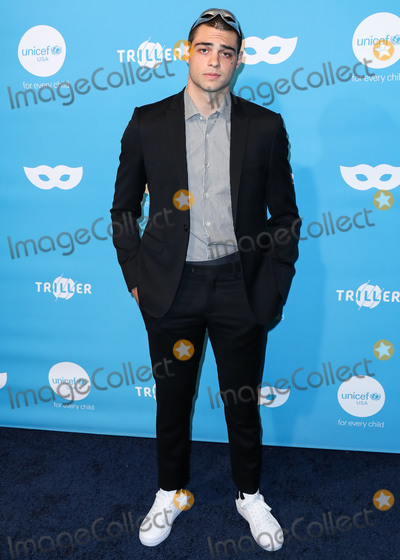 Noah Centineo Photo - WEST HOLLYWOOD, LOS ANGELES, CALIFORNIA, USA - OCTOBER 26: Actor Noah Centineo arrives at the 7th Annual UNICEF Masquerade Ball 2019 held at the Kimpton La Peer Hotel on October 26, 2019 in West Hollywood, Los Angeles, California, United States. (Photo by Xavier Collin/Image Press Agency)