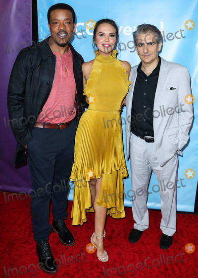 Arielle Kebbel, Michael Imperioli, Russell Hornsby, ARIELE KEBBEL, Michael Bublé, Michael Paré Photo - PASADENA, LOS ANGELES, CALIFORNIA, USA - JANUARY 11: Russell Hornsby, Arielle Kebbel and Michael Imperioli arrive at the 2020 NBCUniversal Winter TCA Press Tour held at The Langham Huntington Hotel on January 11, 2020 in Pasadena, Los Angeles, California, United States. (Photo by Xavier Collin/Image Press Agency)