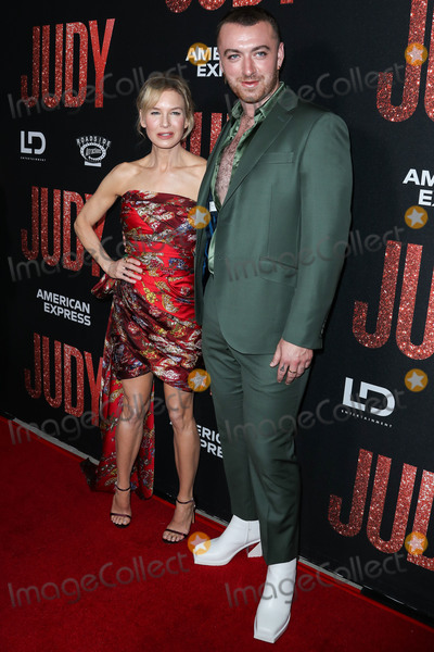 Renee Zellweger, Sam Smith, Samuel Goldwyn, Rene Zellweger Photo - BEVERLY HILLS, LOS ANGELES, CALIFORNIA, USA - SEPTEMBER 19: Renee Zellweger and Sam Smith arrive at the Los Angeles Premiere Of Roadside Attraction's 'Judy' held at the Samuel Goldwyn Theater at the Academy of Motion Picture Arts and Sciences on September 19, 2019 in Beverly Hills, Los Angeles, California, United States. (Photo by Xavier Collin/Image Press Agency)
