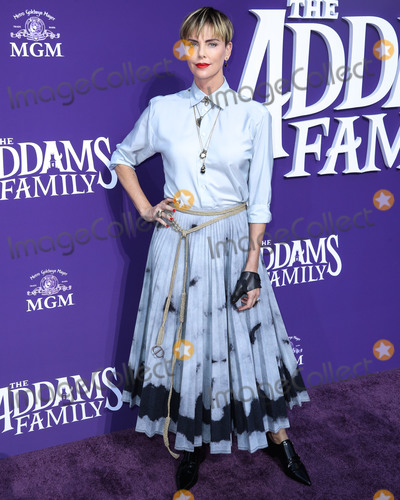 Charlize Theron Photo - CENTURY CITY, LOS ANGELES, CALIFORNIA, USA - OCTOBER 06: Actress Charlize Theron wearing Dior arrives at the World Premiere Of MGM's 'The Addams Family' held at the Westfield Century City AMC on October 6, 2019 in Century City, Los Angeles, California, United States. (Photo by Xavier Collin/Image Press Agency)
