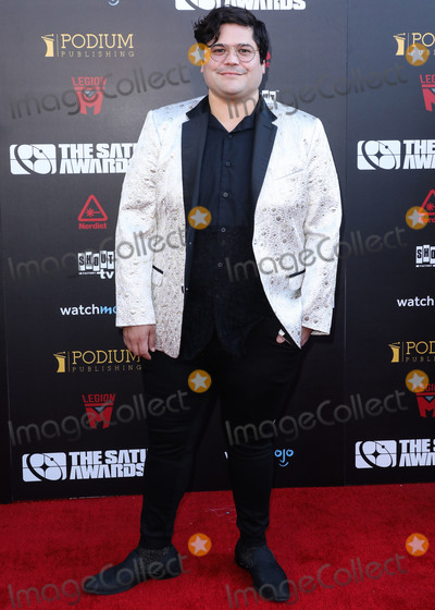 Harvey Guillen, Saturn Awards Photo - HOLLYWOOD, LOS ANGELES, CALIFORNIA, USA - SEPTEMBER 13: Harvey Guillen arrives at the 45th Annual Saturn Awards held at Avalon Hollywood on September 13, 2019 in Hollywood, Los Angeles, California, United States. (Photo by David Acosta/Image Press Agency)