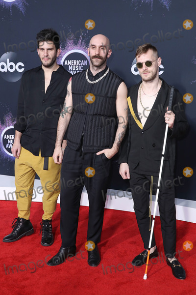 Adam Levine, Sam Harris, X Ambassadors Photo - LOS ANGELES, CALIFORNIA, USA - NOVEMBER 24: Adam Levin, Sam Harris and Casey Harris of X Ambassadors arrive at the 2019 American Music Awards held at Microsoft Theatre L.A. Live on November 24, 2019 in Los Angeles, California, United States. (Photo by Xavier Collin/Image Press Agency)