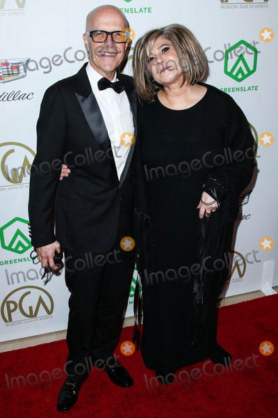 Amy Pascal, Donald De Line, Anna Maria Perez de Taglé, Hüsker Dü, Isaach De Bankolé Photo - BEVERLY HILLS, LOS ANGELES, CA, USA - JANUARY 19: Donald De Line and Amy Pascal arrive at the 30th Annual Producers Guild Awards held at The Beverly Hilton Hotel on January 19, 2019 in Beverly Hills, Los Angeles, California, United States. (Photo by Xavier Collin/Image Press Agency)