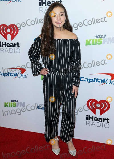 Aubrey Anderson-Emmons, Aubrey Anderson Photo - INGLEWOOD, LOS ANGELES, CA, USA - NOVEMBER 30: Aubrey Anderson-Emmons at 102.7 KIIS FM's Jingle Ball 2018 held at The Forum on November 30, 2018 in Inglewood, Los Angeles, California, United States. (Photo by Xavier Collin/Image Press Agency)
