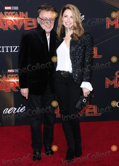 Frankie Valli Photo - HOLLYWOOD, LOS ANGELES, CA, USA - MARCH 04: Singer Frankie Valli and Jacqueline Jacobs arrive at the Los Angeles Premiere Of Marvel Studios 'Captain Marvel' held at the El Capitan Theatre on March 4, 2019 in Hollywood, Los Angeles, California, United States. (Photo by David Acosta/Image Press Agency)