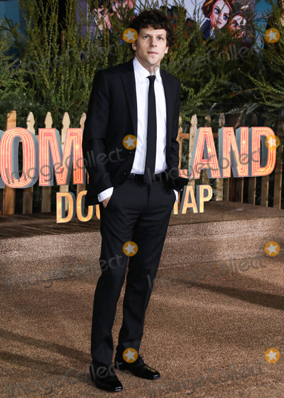 Jesse Eisenberg Photo - WESTWOOD, LOS ANGELES, CALIFORNIA, USA - OCTOBER 10: Actor Jesse Eisenberg arrives at the Los Angeles Premiere Of Sony Pictures' 'Zombieland Double Tap' held at the Regency Village Theatre on October 10, 2019 in Westwood, Los Angeles, California, United States. (Photo by David Acosta/Image Press Agency)