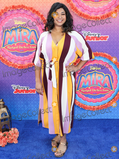 Walt Disney, Aarti Sequeira Photo - BURBANK, LOS ANGELES, CALIFORNIA, USA - MARCH 07: Aarti Sequeira arrives at the Los Angeles Premiere Of Disney Junior's 'Mira, Royal Detective' held at the Walt Disney Studios Main Theater on March 7, 2020 in Burbank, Los Angeles, California, United States. (Photo by Xavier Collin/Image Press Agency)