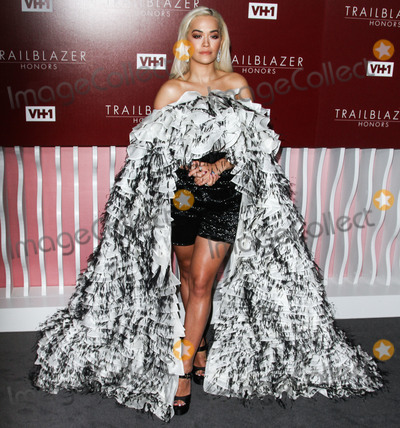 Rita Ora, Rita  Ora Photo - LOS ANGELES, CA, USA - FEBRUARY 20: Singer Rita Ora wearing an Ashi Studio outfit arrives at the VH1 Trailblazer Honors 2019 held at The Wilshire Ebell Theatre on February 20, 2019 in Los Angeles, California, United States. (Photo by Image Press Agency)