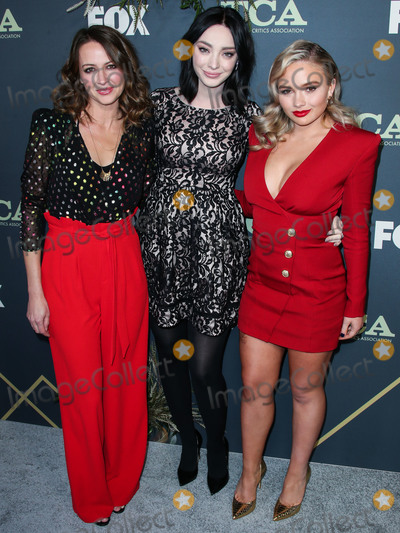 Amy Acker, Emma Dumont Photo - PASADENA, LOS ANGELES, CA, USA - FEBRUARY 06: Actresses Emma Dumont, Amy Acker and Natalie Alyn Lind arrive at the FOX Winter TCA 2019 All-Star Party held at The Fig House on February 6, 2019 in Pasadena, Los Angeles, California, United States. (Photo by Xavier Collin/Image Press Agency)