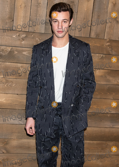 Michael Kors, Cameron Dallas Photo - MANHATTAN, NEW YORK CITY, NEW YORK, USA - FEBRUARY 12: Cameron Dallas arrives at the Michael Kors Collection Fall/Winter 2020 Runway Show - February 2020 during New York Fashion Week held at the American Stock Exchange on February 12, 2020 in Manhattan, New York City, New York, United States. (Photo by Image Press Agency)