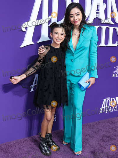 Aimee Garcia, Anouk Aimé Photo - CENTURY CITY, LOS ANGELES, CALIFORNIA, USA - OCTOBER 06: Actress Aimee Garcia arrives at the World Premiere Of MGM's 'The Addams Family' held at the Westfield Century City AMC on October 6, 2019 in Century City, Los Angeles, California, United States. (Photo by Xavier Collin/Image Press Agency)