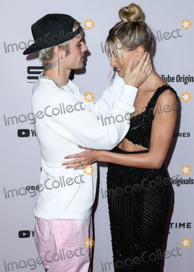 Justin Bieber Photo - WESTWOOD, LOS ANGELES, CALIFORNIA, USA - JANUARY 27: Singer Justin Bieber and wife/model Hailey Rhode Baldwin Bieber arrives at the Los Angeles Premiere Of YouTube Originals' 'Justin Bieber: Seasons' held at the Regency Bruin Theatre on January 27, 2020 in Westwood, Los Angeles, California, United States. (Photo by Xavier Collin/Image Press Agency)