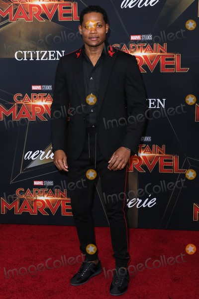 Algenis Perez, Anna Maria Perez de Taglé Photo - HOLLYWOOD, LOS ANGELES, CA, USA - MARCH 04: Actor Algenis Perez Soto arrives at the Los Angeles Premiere Of Marvel Studios 'Captain Marvel' held at the El Capitan Theatre on March 4, 2019 in Hollywood, Los Angeles, California, United States. (Photo by David Acosta/Image Press Agency)