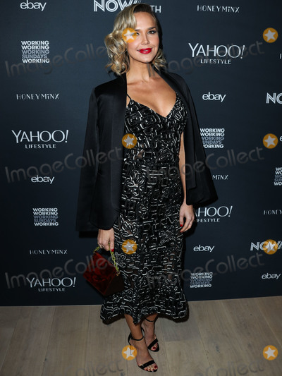 Arielle Kebbel, Nicole Richie, ARIELE KEBBEL Photo - BEVERLY HILLS, LOS ANGELES, CA, USA - NOVEMBER 15: Arielle Kebbel at the NowWith Presented By Yahoo Lifestyle In Partnership With Working Sundays Series With Nicole Richie's Honey Minx Collection Reveal held at Spring Place on November 15, 2018 in Beverly Hills, Los Angeles, California, United States. (Photo by Xavier Collin/Image Press Agency)