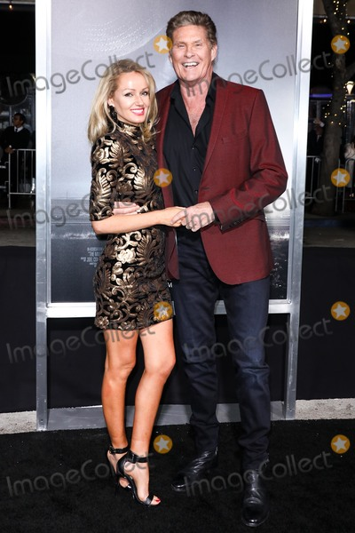 David Hasselhoff, Hayley Roberts Photo - WESTWOOD, LOS ANGELES, CA, USA - DECEMBER 10: Hayley Roberts and David Hasselhoff arrive at the Los Angeles Premiere Of Warner Bros. Pictures' 'The Mule' held at the Regency Village Theatre on December 10, 2018 in Westwood, Los Angeles, California, United States. (Photo by David Acosta/Image Press Agency)