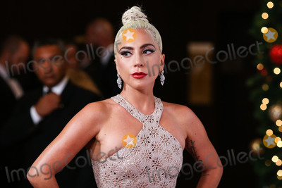 Azzedine Alaia, Lady GaGa Photo - BEVERLY HILLS, LOS ANGELES, CA, USA - NOVEMBER 29: Actress/singer Lady Gaga wearing an Azzedine Alaia dress and Amwaj diamond earrings arrives at the 32nd Annual American Cinematheque Awards Gala held at The Beverly Hilton Hotel on November 29, 2018 in Beverly Hills, Los Angeles, California, United States. (Photo by Xavier Collin/Image Press Agency)