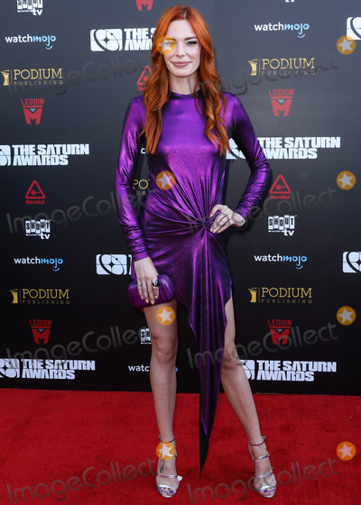 Chloe Dykstra, Saturn Awards Photo - HOLLYWOOD, LOS ANGELES, CALIFORNIA, USA - SEPTEMBER 13: Actress Chloe Dykstra arrives at the 45th Annual Saturn Awards held at Avalon Hollywood on September 13, 2019 in Hollywood, Los Angeles, California, United States. (Photo by David Acosta/Image Press Agency)