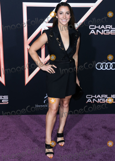 Aly Raisman, Ali Farka Touré Photo - WESTWOOD, LOS ANGELES, CALIFORNIA, USA - NOVEMBER 11: Aly Raisman arrives at the Los Angeles Premiere Of Columbia Pictures' 'Charlie's Angels' held at the Westwood Regency Theater on November 11, 2019 in Westwood, Los Angeles, California, United States. (Photo by Xavier Collin/Image Press Agency)