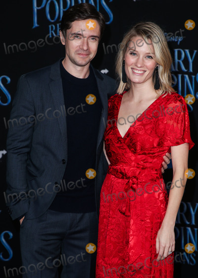 Ashley Hinshaw, Topher Grace Photo - HOLLYWOOD, LOS ANGELES, CA, USA - NOVEMBER 29: Topher Grace, Ashley Hinshaw at the Los Angeles Premiere Of Disney's 'Mary Poppins Returns' held at the El Capitan Theatre on November 29, 2018 in Hollywood, Los Angeles, California, United States. (Photo by Image Press Agency)