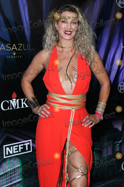 Amber Smith Photo - WOODLAND HILLS, LOS ANGELES, CALIFORNIA, USA - OCTOBER 19: Actress Amber Smith arrives at Karma International's 2019 Kandy Halloween Party on October 19, 2019 in Woodland Hills, Los Angeles, California, United States. (Photo by Xavier Collin/Image Press Agency)