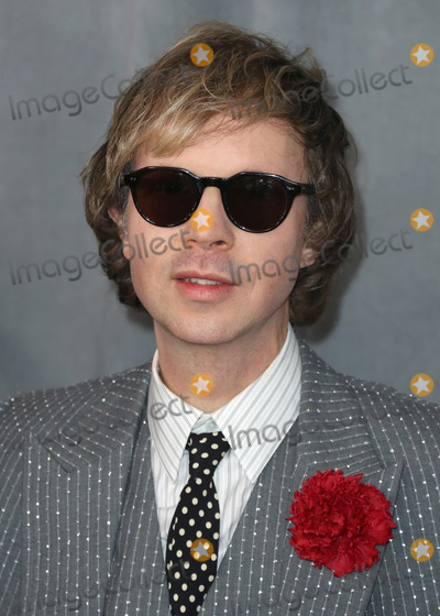 Beck, Grammy Awards Photo - LOS ANGELES, CALIFORNIA, USA - JANUARY 26: Beck arrives at the 62nd Annual GRAMMY Awards held at Staples Center on January 26, 2020 in Los Angeles, California, United States. (Photo by Xavier Collin/Image Press Agency)