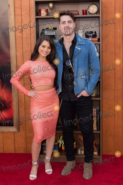 Ariel Yasmine Photo - WESTWOOD, LOS ANGELES, CALIFORNIA, USA - JUNE 20: Ariel Yasmine and Santi arrive at the Los Angeles Premiere Of Warner Bros' 'Annabelle Comes Home' held at Regency Village Theatre on June 20, 2019 in Westwood, Los Angeles, California, United States. (Photo by Rudy Torres/Image Press Agency)