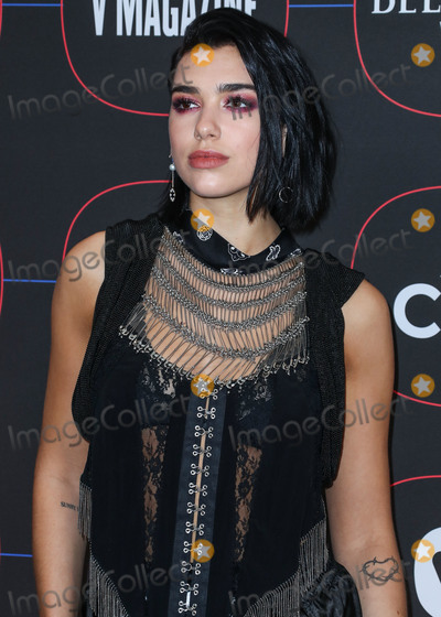 Alexander Wang, Madness, Dua Lipa Photo - LOS ANGELES, CA, USA - FEBRUARY 07: Singer Dua Lipa wearing Alexander Wang arrives at the Warner Music Pre-Grammy Party 2019 held at The NoMad Hotel Los Angeles on February 7, 2019 in Los Angeles, California, United States. (Photo by Xavier Collin/Image Press Agency)