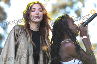 Angel Haze Photo - CALABASAS, LOS ANGELES, CA, USA - DECEMBER 02: Singer Dorothy and rapper Angel Haze perform onstage at the One Love Malibu Festival Benefit Concert For Woolsey Fire Recovery held at the King Gillette Ranch on December 2, 2018 in Calabasas, Los Angeles, California, United States. (Photo by Xavier Collin/Image Press Agency)