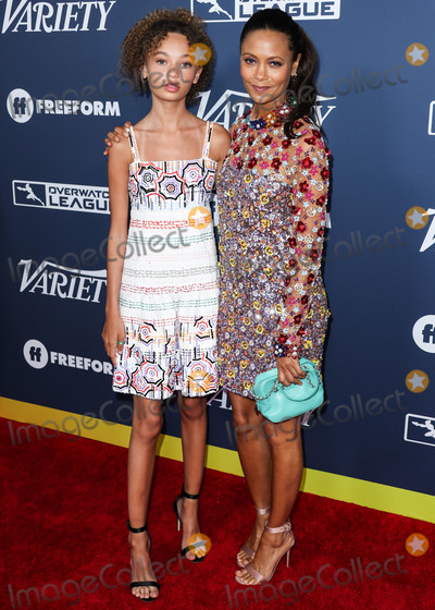 Nico, Thandie Newton, Thandi Newton, Nico Parker Photo - HOLLYWOOD, LOS ANGELES, CALIFORNIA, USA - AUGUST 06: Actress Nico Parker and mother/actress Thandie Newton arrive at Variety's Power Of Young Hollywood 2019 held at the h Club Los Angeles on August 6, 2019 in Hollywood, Los Angeles, California, United States. (Photo by Xavier Collin/Image Press Agency)