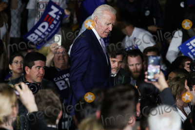 Joe Biden, Vice President Joe Biden Photo - BALDWIN HILLS, LOS ANGELES, CALIFORNIA, USA - MARCH 03: Former Vice President Joe Biden, 2020 Democratic presidential candidate, attends the Jill and Joe Biden 2020 Super Tuesday Los Angeles Rally held at the Baldwin Hills Recreation Center on March 3, 2020 in Baldwin Hills, Los Angeles, California, United States. (Photo by Xavier Collin/Image Press Agency)