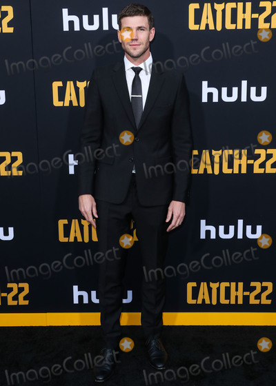 Austin Stowell, TCL Chinese Theatre Photo - HOLLYWOOD, LOS ANGELES, CALIFORNIA, USA - MAY 07: Austin Stowell arrives at the Los Angeles Premiere Of Hulu's 'Catch-22' held at the TCL Chinese Theatre IMAX on May 7, 2019 in Hollywood, Los Angeles, California, United States. (Photo by Xavier Collin/Image Press Agency)