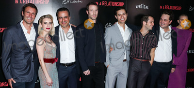Dree Hemingway, Emma Roberts, Jorge Garcia, Michael Angarano, Sergio Cortez, Andres Icaza, Sam Boyd, Michael Bublé, Michael Paré Photo - WEST HOLLYWOOD, LOS ANGELES, CA, USA - OCTOBER 30: Sam Boyd, Emma Roberts, Dree Hemingway, Michael Angarano, Andres Icaza, Sergio Cortez, Jorge Garcia at the Los Angeles Premiere Of Vertical Entertainment's 'In A Relationship' held at The London West Hollywood Screening Room on October 30, 2018 in West Hollywood, Los Angeles, California, United States. (Photo by Xavier Collin/Image Press Agency)