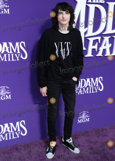 Finn Wolfhard Photo - CENTURY CITY, LOS ANGELES, CALIFORNIA, USA - OCTOBER 06: Actor Finn Wolfhard arrives at the World Premiere Of MGM's 'The Addams Family' held at the Westfield Century City AMC on October 6, 2019 in Century City, Los Angeles, California, United States. (Photo by Xavier Collin/Image Press Agency)