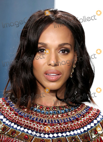 Kerry Bishé, Kerry Washington, Wallis Annenberg, Kerri Washington Photo - BEVERLY HILLS, LOS ANGELES, CALIFORNIA, USA - FEBRUARY 09: Kerry Washington arrives at the 2020 Vanity Fair Oscar Party held at the Wallis Annenberg Center for the Performing Arts on February 9, 2020 in Beverly Hills, Los Angeles, California, United States. (Photo by Xavier Collin/Image Press Agency)