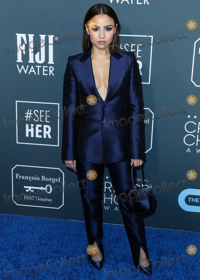 Aimee Carrero, Anouk Aimé Photo - SANTA MONICA, LOS ANGELES, CALIFORNIA, USA - JANUARY 12: Actress Aimee Carrero wearing Gabriela Hearst arrives at the 25th Annual Critics' Choice Awards held at the Barker Hangar on January 12, 2020 in Santa Monica, Los Angeles, California, United States. (Photo by Xavier Collin/Image Press Agency)