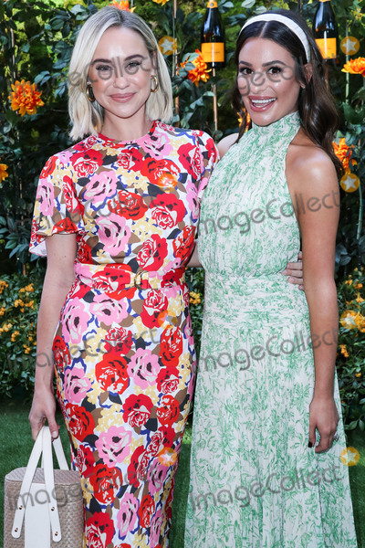 Lea Michele, Will Rogers, Lea Michelle, Becca Tobin, Léna Jam-Panoï Photo - PACIFIC PALISADES, LOS ANGELES, CALIFORNIA, USA - OCTOBER 05: Becca Tobin and Lea Michele arrive at the 10th Annual Veuve Clicquot Polo Classic Los Angeles held at Will Rogers State Historic Park on October 5, 2019 in Pacific Palisades, Los Angeles, California, United States. (Photo by Xavier Collin/Image Press Agency)