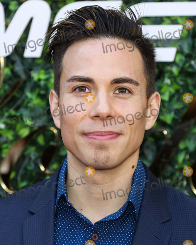 Apolo Ohno Photo - BEVERLY HILLS, LOS ANGELES, CALIFORNIA, USA - JANUARY 04: Apolo Ohno arrives at the 7th Annual Gold Meets Golden Event held at Virginia Robinson Gardens and Estate on January 4, 2020 in Beverly Hills, Los Angeles, California, United States. (Photo by Xavier Collin/Image Press Agency)