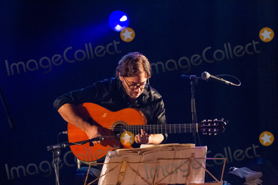 Al Di Meola, Hüsker Dü Photo - LISBOA, PORTUGAL - DECEMBER 11: Al Di Meola and Gonzalo Rubalcaba performing live at Aula Magna on December 11, 2012 in Lisboa, Portugal. (Photo by Rui M Leal/ImageCollect.com)