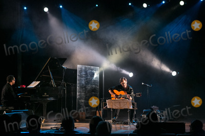 Al Di Meola, Hüsker Dü Photo - LISBOA, PORTUGAL - DECEMBER 11: Al Di Meola and Gonzalo Rubalcaba performing live at Aula Magna on December 11, 2012 in Lisboa, Portugal. (Photo by Rui M Leal/ImageCollect.com)