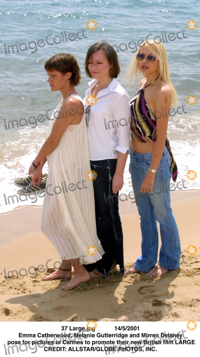 Emma Catherwood Photo - Large.jpg 14/5/2001 Emma Catherwood, Melanie Gutterridge and Mirren Delaney Pose For Pictures in Cannes to Promote There New British Fil Large Credit: Allstar/Globe Photos, Inc.