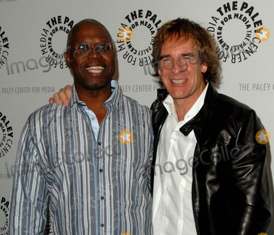 "Andre Braugher, Scott Bakula Photo - Annual Paleyfest Presents ""Men of a Certain Age"" at the Saban Theatre in Los Angeles, CA 03-12-2010 Photo by Scott Kirkland-Globe Photos @ 2010 Andre Braugher and Scott Bakula"