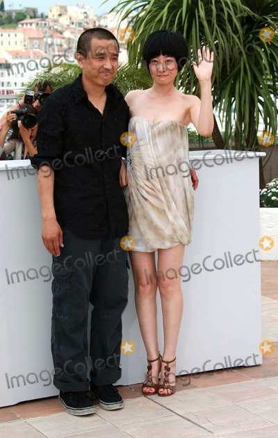 """Lou Ye, Tan Zhuo, YES Photo - Lou Ye & Tan Zhuo Director & Actress """"Spring Fever"""" Photo Call at the 2009 Cannes Film Festival at Palais Des Festival Cannes, France 05-14-2009 Photo by David Gadd Allstar--Globe Photos, Inc. 2009"""