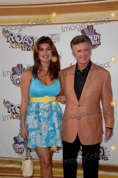 Jackie Collins, Alan Thicke, Joan Rivers, Tanya Callau Photo - Tanya Callau and Alan Thicke During the Comedy Central Roast of Joan Rivers, Held at Cbs Studios, on July 26, 2009, in Studio City, Los Angeles. Photo: Michael Germana- Globe Photos, Inc. 2009