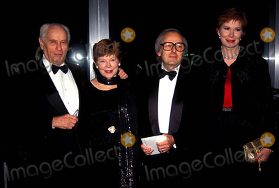 Andre Previn, Eli Wallach, Kennedy Photo - Kennedy Center Honors Mr. and Mrs. Eli Wallach 12-03-1994 Andre Previn and Wife Photo by James M. Kelly-Globe Photos